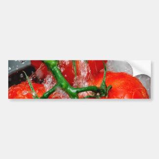 Rinsing Vine Ripened Tomato Bumper Sticker