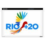 Rio+20 Alternative Logo Laptop Skin