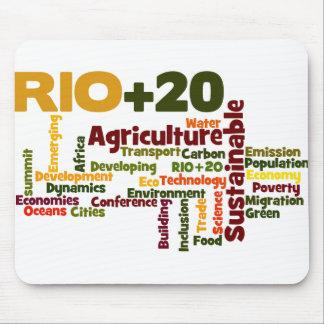 Rio +20 mouse pad