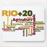 Rio +20 mousepad
