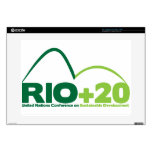 Rio +20 UN Conference Decal For Laptop