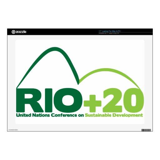 Rio +20 UN Conference Laptop Skin