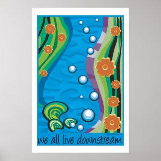 Rio abajo póster