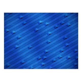 Río azul tarjeta postal