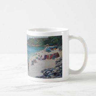 Rio Beach, Rio Beachby Sylvia LeDoux Coffee Mugs
