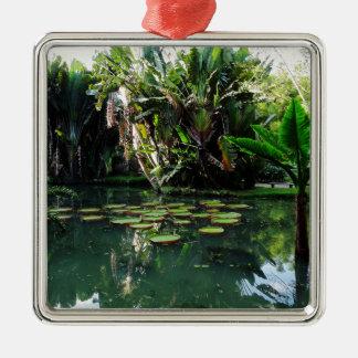 Rio Botanical Garden Metal Ornament
