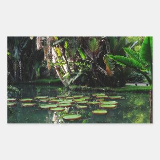 Rio Botanical Garden Rectangular Sticker