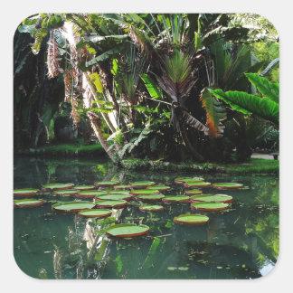 Rio Botanical Garden Square Sticker