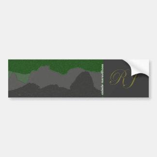 Rio/Brazil will be cars Car Bumper Sticker