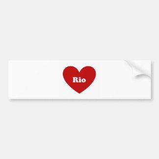 Rio Bumper Sticker