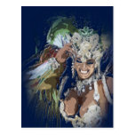 Rio Carnival Postcard