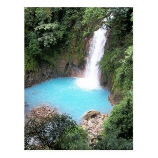 Rio Celeste Falls Postcard