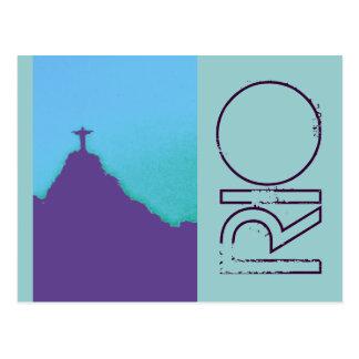 Rio Corcovado Cristo Postcard