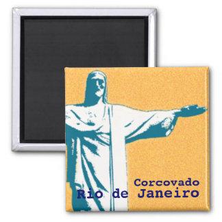 Río/Corcovado/Jesucristo el redentor Imán De Nevera
