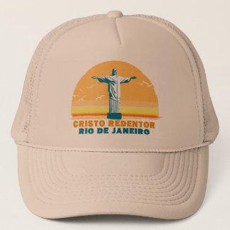 Rio - Corcovado - Jesus Christ the Redeemer Trucker Hat