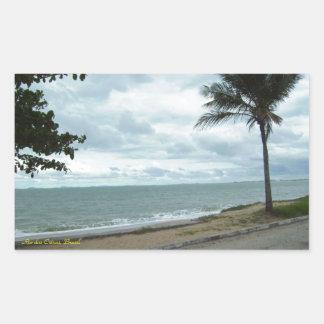 Rio das Ostras, Brasil Rectangular Sticker