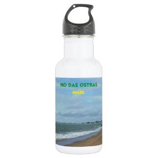 Rio das Ostras, Brasil Stainless Steel Water Bottle