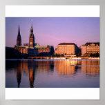 río de Alemania Poster