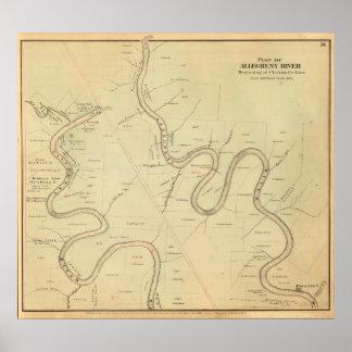 Río de Allegheny Posters