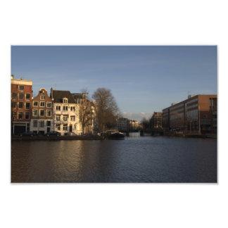 Río de Amstel, Amsterdam Fotografía
