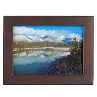 Río de Athabasca, parque nacional de jaspe, Caja De Recuerdos