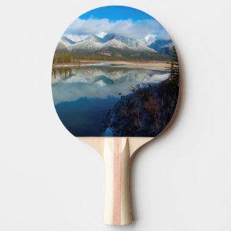 Río de Athabasca, parque nacional de jaspe, Pala De Ping Pong