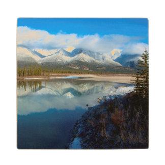 Río de Athabasca, parque nacional de jaspe, Posavasos De Arce