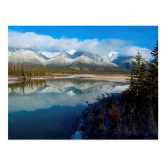 Río de Athabasca, parque nacional de jaspe, Postales