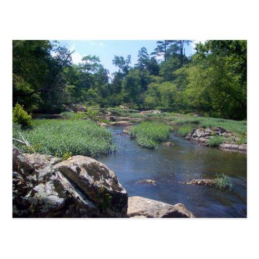 Río de Eno, Carolina del Norte Tarjeta Postal