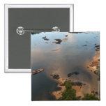 Río de Essequibo, el río más largo en Guyana, y 2 Pin