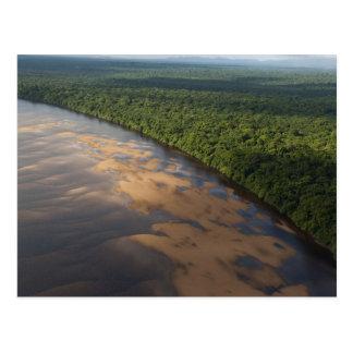 Río de Essequibo el río más largo en Guyana y 3 Tarjeta Postal