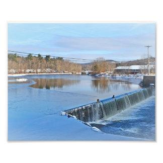 Río de Farmington en la impresión de la foto de Fotografía