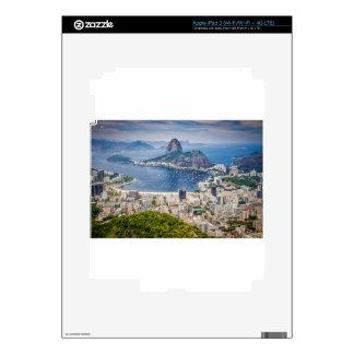Rio de Janeiro aerial view Skin For iPad 3