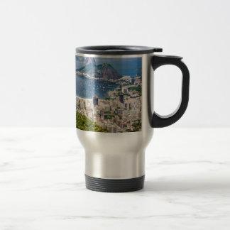 Rio de Janeiro aerial view Travel Mug