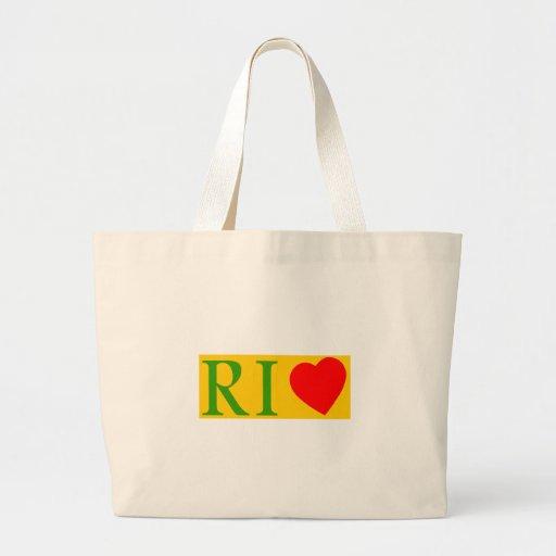 Rio de Janeiro amor Bolsas De Mano