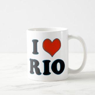 Río de Janeiro - amor Río de I Taza De Café
