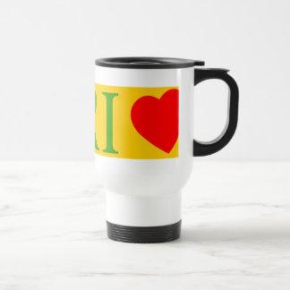 Rio de Janeiro amor Tazas De Café