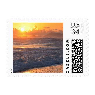Rio de Janeiro beach Postage Stamp