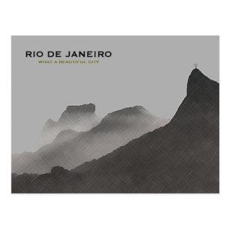 Rio de Janeiro beautiful city Postcard