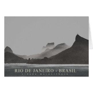 rio de janeiro, brasil greeting card