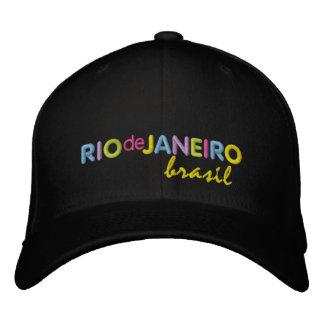 Rio de Janeiro Brasil Embroidered Baseball Hat