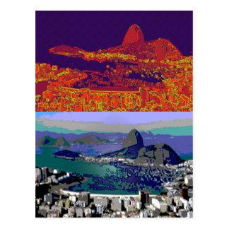 Rio de Janeiro Brasil Pão-de-Açúcar Postcard