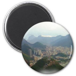 Rio de Janeiro - Brazil 2 Inch Round Magnet