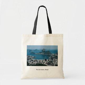 Rio de Janeiro, Brazil Budget Tote Bag