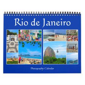 rio de janeiro brazil calendar