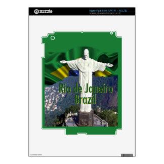 Rio de Janeiro Brazil Decals For iPad 3