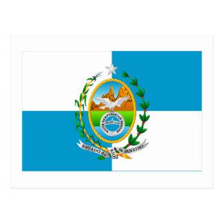 Rio de Janeiro, Brazil Flag Post Cards