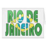 Rio de Janeiro, Brazil Greeting Card