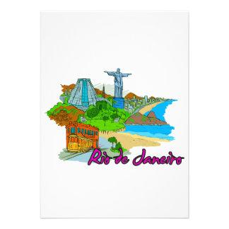 Rio De Janeiro - Brazil Custom Invitations