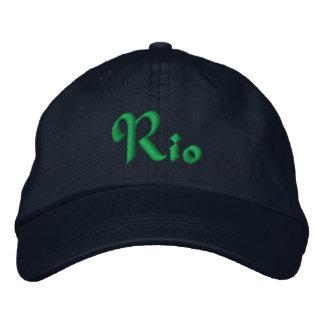 Rio De Janeiro, Brazil Personalized Adjustable Hat